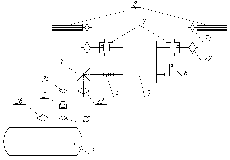 посевной комплекс кузбасс схема
